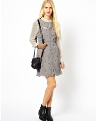 Sugarhill | Gray Lighthouse Dress | Lyst