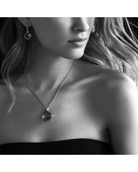 David Yurman - Cushion On Point Pendant with Black Onyx On Chain - Lyst