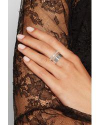 Repossi - Metallic Berbère Module 18-karat White Gold Ring - Lyst