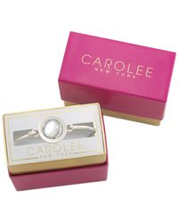 Carolee | Metallic Silver-tone The World Is Your Oyster Bracelet | Lyst