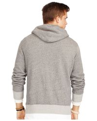 Polo Ralph Lauren | Gray New York Fleece Hoodie for Men | Lyst