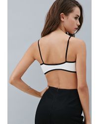 Forever 21 | Black Private Archives Faux Leather Bralette | Lyst