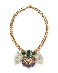 Lulu Frost | Green One-of-a-kind 50 Year Necklace with Emerald  Violet Glass | Lyst