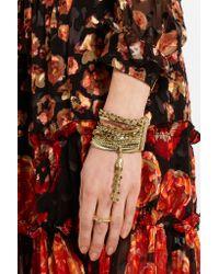 Rosantica - Metallic Maya Gold-tone Pyrite Bracelet - Lyst