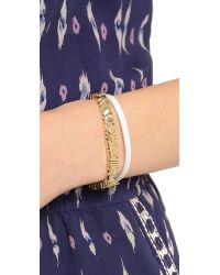 House of Harlow 1960 - Metallic Wrap Bracelet - Lyst
