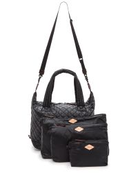 MZ Wallace | Large Sutton Bag - Black | Lyst