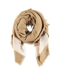 Forever 21 - Natural Stripe-patterned Scarf You've Been Added To The Waitlist - Lyst