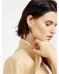 BaubleBar - Metallic Crystal Ray Ear Jackets - Lyst
