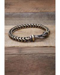 Forever 21 - Metallic Men Vitaly Kusari Bracelet for Men - Lyst
