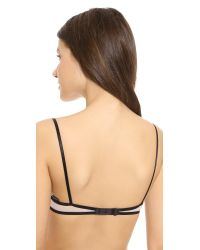 Only Hearts French Eyelash Lace Underwire Bra - Black