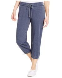 Style & Co. | Blue Sport Petite Capri Soft Pants | Lyst