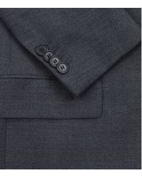 Givenchy | Blue Lapel Trim Classic Wool Suit for Men | Lyst
