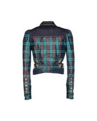 Just Cavalli | Green Jacket | Lyst