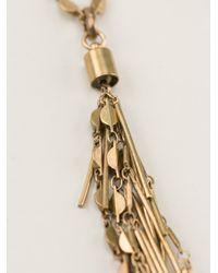 Isabel Marant - Metallic Good Swung Necklace - Lyst