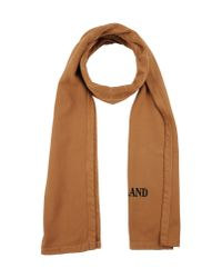 Stone Island - Brown Oblong Scarf for Men - Lyst