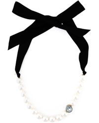 Lanvin | Natural Pearl Choker Necklace | Lyst
