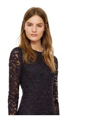 Tory Burch | Blue Lace Gown | Lyst