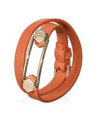Tod's   Orange Bracelet   Lyst