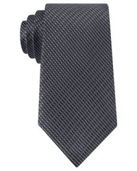 Kenneth Cole Reaction | Black Micro Texture Tie for Men | Lyst