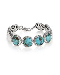 John Hardy | Metallic Palu Turquoise & Sterling Silver Matrix Bracelet | Lyst