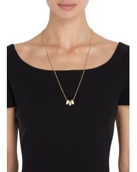 Marc By Marc Jacobs - Metallic Sweetie Rings Gold Tone Necklace - Lyst