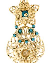 Isabel Marant - Metallic San Pedro Ornate Drop Earrings - Lyst