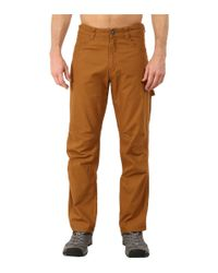 Patagonia | Brown Utility Duck Pant - Short for Men | Lyst