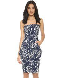 Zero + Maria Cornejo | Blue 'goa' Dress | Lyst