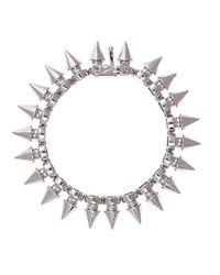 Noir Jewelry | Metallic Tobi Tree Spike Bracelet | Lyst
