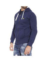 Polo Ralph Lauren | Blue Sweater Classic Hooded Fleece Zip for Men | Lyst