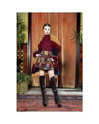 Alice + Olivia - Multicolor Loran Jacquard Skirt - Lyst