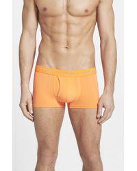 DIESEL - Orange 'umbx Divine' Boxer Briefs for Men - Lyst