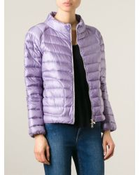 Moncler | Pink Delaage Quilted Jacket | Lyst
