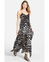 Volcom - Black 'cortez' Beaded Maxi Dress - Lyst