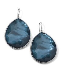 Ippolita | Blue Extra-large Teardrop Earrings In Indigo | Lyst