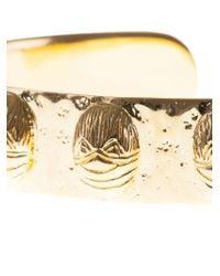 Aurelie Bidermann - Metallic Tamar Gold Cuff - Lyst
