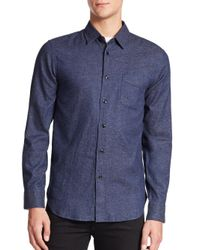 Rag & Bone | Blue Beach Sportshirt for Men | Lyst