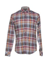 Timberland - Gray Shirt for Men - Lyst