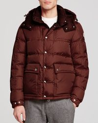 Moncler | Purple Brel Puffer Jacket for Men | Lyst