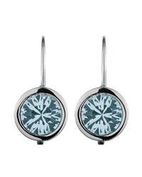 Dyrberg/Kern | Metallic Louise Solitaire Earrings | Lyst