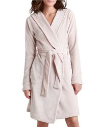 UGG | Natural Hooded Robe | Lyst
