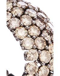 Sidney Garber Brown Diamond Flexible Ring