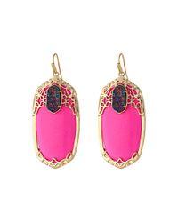 Kendra Scott | Pink Deva Earring | Lyst