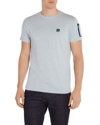 Duck and Cover - Blue Brewster Short Sleeve Crew Neck T-shirt for Men - Lyst