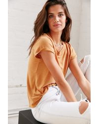 Truly Madly Deeply - Brown Marnie Tee - Lyst