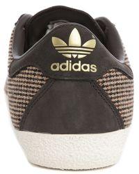 Adidas Originals | Originals Gazelle '70s Brown And White Trainers for Men | Lyst