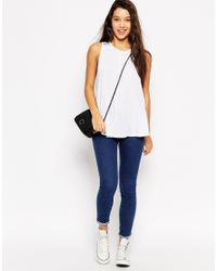 ASOS   Black Swing Vest With Drape 2 Pack Save 10%   Lyst