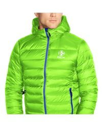 Ralph Lauren - Green Water-resistant Down Jacket for Men - Lyst