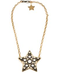 Lanvin | Metallic Star Necklace | Lyst
