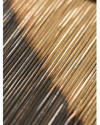 Iosselliani - Metallic 'Black Hole Sun' Necklace - Lyst